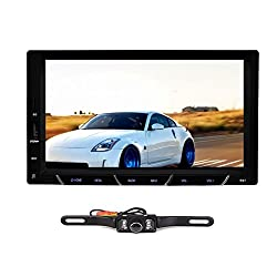 See Latest Android 4.2 Car GPS Navigation with WIFI Bluetooth 7 Inch 2 Din Car Radio Stereo NO DVD Player+ Backup Camera Details