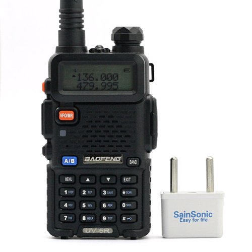 For Sale! BaoFeng UV-5R 136-174/400-480 MHz Dual-Band DTMF CTCSS DCS FM Ham Two Way Radio