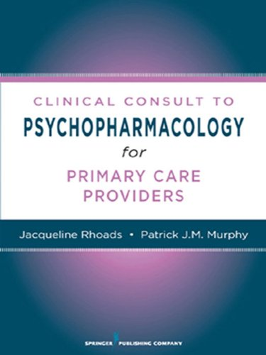 GNP-BE Jacqueline Rhoads PhD - Nurses' Clinical Consult to Psychopharmacology