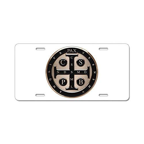 cafepress-medaglia-san-benedetto-in-alluminio-targa-standard-colore-multicolore
