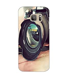 SAMSUNG GALAXY S7 CAMERA Back Cover by PRINTSWAG