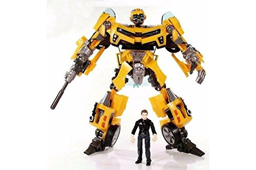 NEW Transformers ROTF Human Alliance Bumblebee Sam Witwicky Toys Robot
