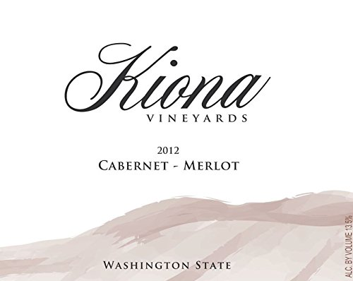 2012 Kiona Vineyards And Winery - Washington State Cabernet-Merlot 750 Ml