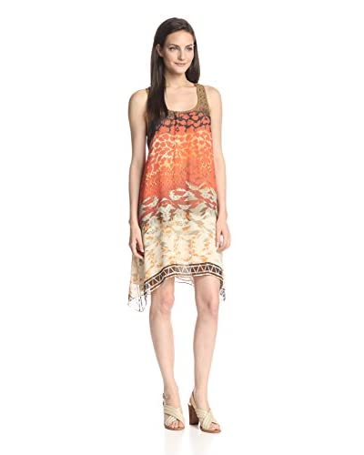 DA-NANG Women's Georgette Tank Dress