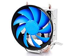 Deepcool Gammaxx 200T CPU Cooler with 2 Heat Pipes 120MM Fan
