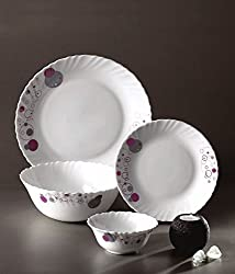 Laopala Diva Purple Haze 19 pcs dinner set