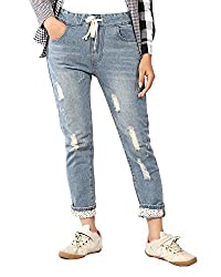 Trendybella Womens Slim Fit Jeans_8011-34_Blue_29