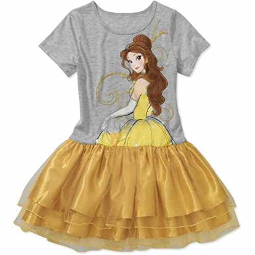 Disney Princess Belle Girls Sizes 4-8 Fashion Dress