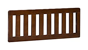 Delta Children Slumber Time Elite Toddler Guardrail, Espresso Truffle