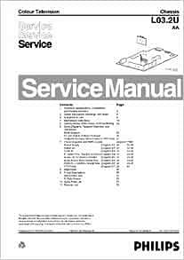 MAGNAVOX 20MS2331 CHASSIS L03.2UAA SERVICE MANUAL: MAGNAVOX: Amazon