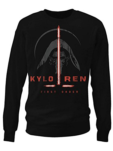 Kylo Ren First Order Sweatshirt (Black), Large