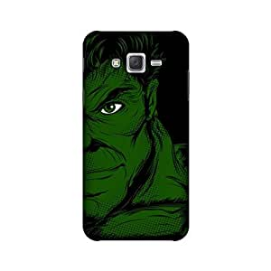 Samsung Galaxy J7 2015 Edition Designer Printed Covers (Samsung Galaxy J7 2015 Edition Back Cover) - Superhero Hulk