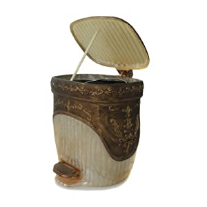 dream bath brave gladiators step trash can with lid 5