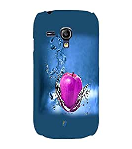 PrintDhaba Apple D-4284 Back Case Cover for SAMSUNG GALAXY S3 MINI (Multi-Coloured)