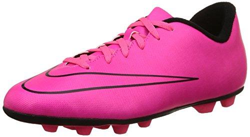 Nike Jr Mercurial Vortex II Fg-R, Scarpe sportive, Ragazzo, Multicolore (Hyper Pink/Hyper Pink-Blk-Blk), 36