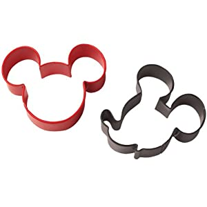 Cookie Cutter Set 2 Pkg-Mickey Mouse by Wilton