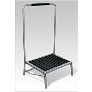 Amazon.com: Extra Wide Folding Step Stool with Handle ...