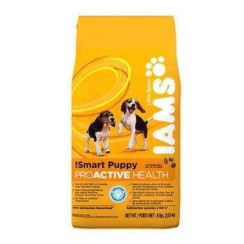 Iams Smart Puppy Proactive Dry Dog Food 8Lb