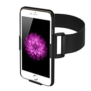 FRiEQ Brassard Armband pour iPhone 6 (4.7'') - Léger et entièrement ajustable - Idéal pour l'entraînement, la randonnée, le jogging, la gym ou autres sports