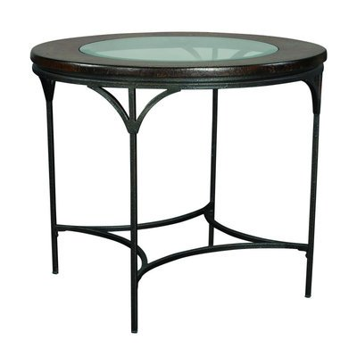 Cheap Hammary Santos Glass Top End Table (T10175-T1017535-00)