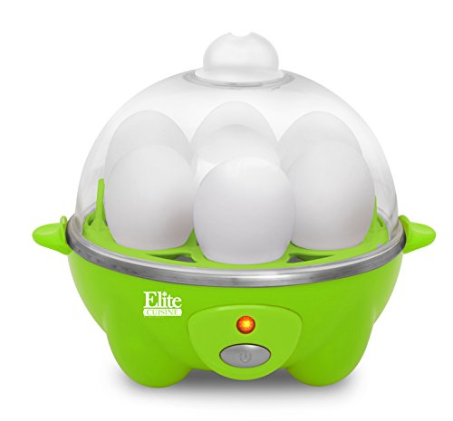 Elite Maxi-Matic EGC-007G Elite Cuisine Egg Cooker, Green