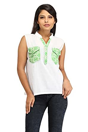 white cotton tops for women western white cotton tops