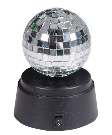 "Rhode Island Novelty 4.5"" Battery Operated Spinning Mirror Ball"