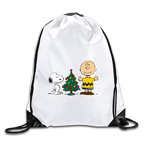 UNDERFASHION Charlie Brown Snoopy Christmas Sackpack Team Training Gymsack