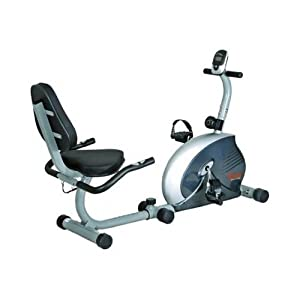 Amazon Com Health Fitness Magnetic Recumbent Exercise