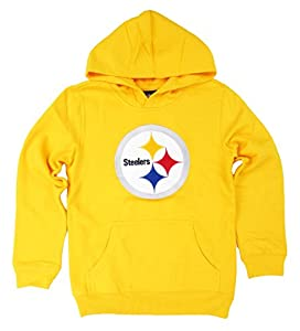 Pittsburgh Steelers Youth Promo Fleece Pullover Hoodie - Gold at Steeler Mania