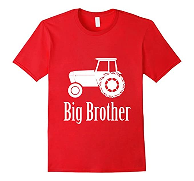 Big Brother Shirt with Tractor