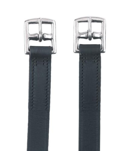 Kerbl Steigbügelriemen, 145cm, schwarz