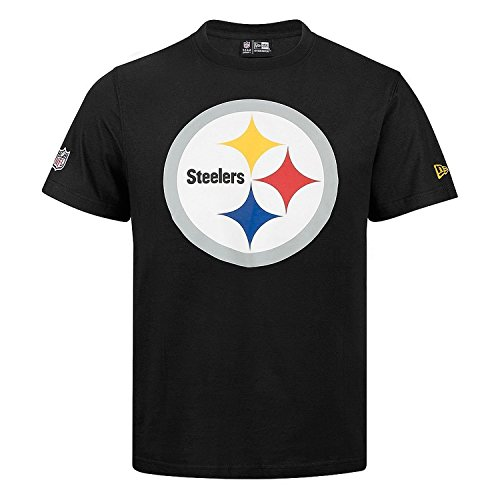 New Era NFL PITTSBURGH STEELERS Team Logo Tee, Größe:XL