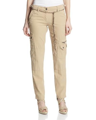 DA-NANG Women's Slim Cargo Pants
