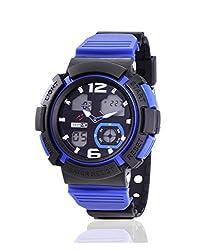 Yepme Mens Analog Digital Watch - Blue/Black