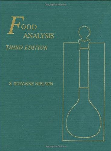 Food Analysis (Food Science Texts Series)
