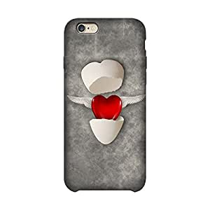 Wrapit Love Heart Egg Hard Back Case Cover For Apple Iphone 6/6s