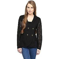 RARE Full Sleeve Black Women's Jacket