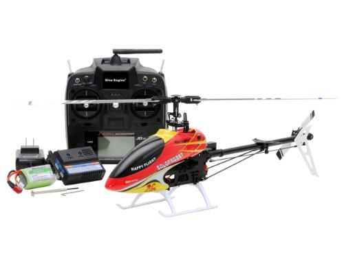 SOLO PRO ソロプロ 287 (レッド&イエロー) (2.4GHz 6ch 電動3Dヘリコプター)