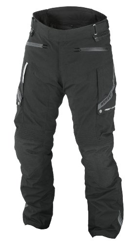 Nerve 1511071304_04 Pantaloni Moto Touring West Coast, Nero, L
