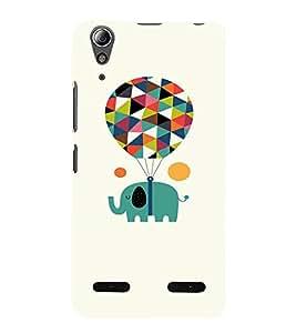 EPICCASE Carnival Mobile Back Case Cover For Lenovo A6000 (Designer Case)