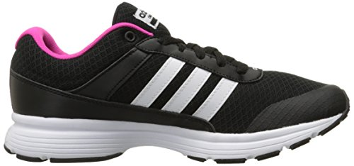Adidas Performance Women's Cloudfoam VS City W Running Shoe, Black/White/Shock Pink S, 9 M US