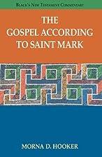 The Gospel according to Saint Mark by Morna D. Hooker