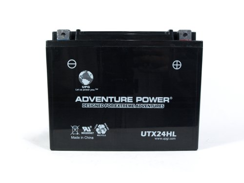 UPG UTX24HL Adventure Power Power Sport AGM Series Sealed AGM Battery
