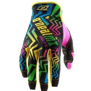 O'Neal Racing Jump Flashback Gloves - 9/Neon