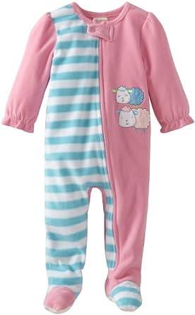 Amazon ABSORBA Baby Girls Infant Sheep Blanket