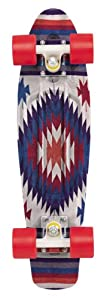 Penny Holiday Complete Skateboard, 22-Inch, Aztec