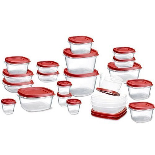 Rubbermaid Easy Find Lid Food Storage Container, 42