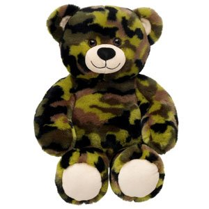Build-A-Bear Workshop 15 in. Camo Bear Plush Stuffed Animal