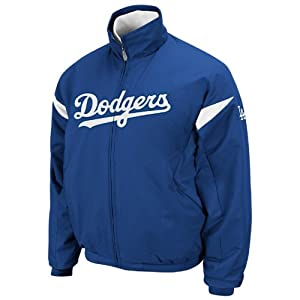 Buy Los Angeles Dodgers Authentic Triple Peak Premier Jacket by Majestic Select Size: Large by Majestic